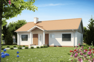 проект каркасного дома SDn 159 2
