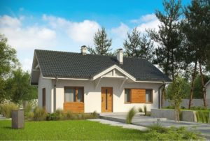 проект каркасного дома SDn 319 4