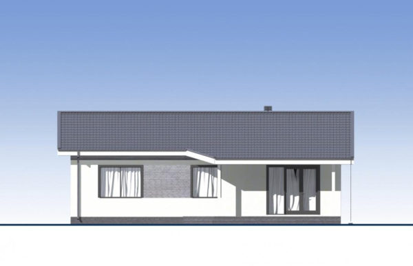 проект каркасного дома SDn 334 4