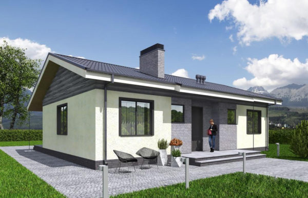 проект каркасного дома SDn 334 6