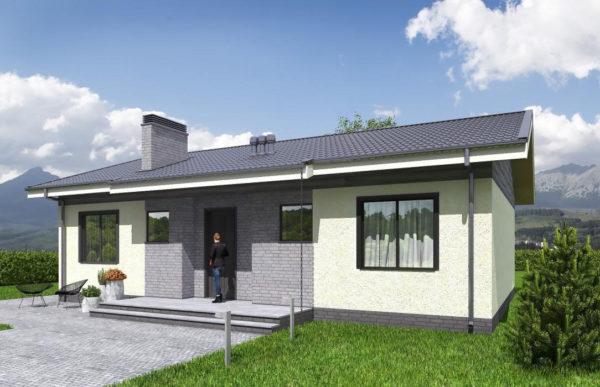 проект каркасного дома SDn 334 7