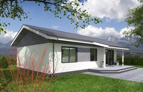 проект каркасного дома SDn 334 8