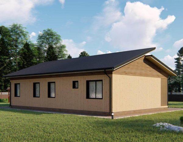 проект каркасного дома SDn 339 1