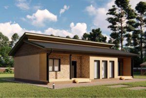 проект каркасного дома SDn 339 3
