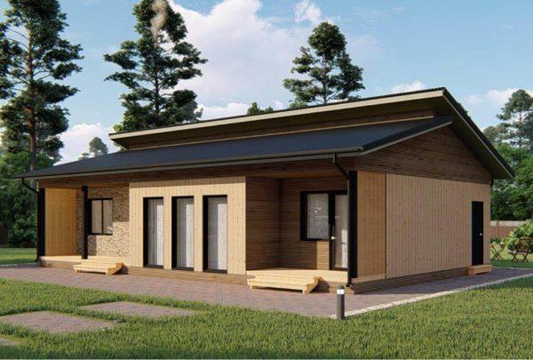 проект каркасного дома SDn 339 4
