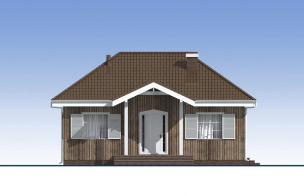 проект каркасного дома SDn 480 2