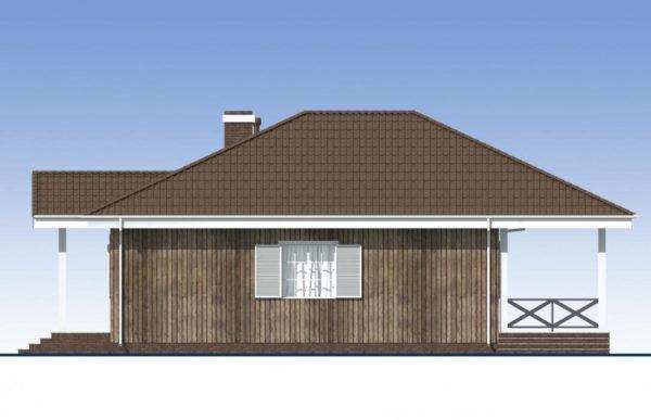 проект каркасного дома SDn 480 3