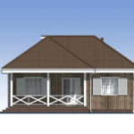 проект каркасного дома SDn-480 4