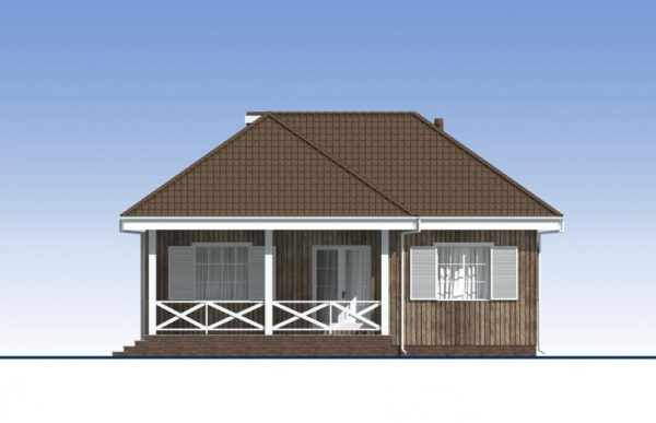 проект каркасного дома SDn 480 4