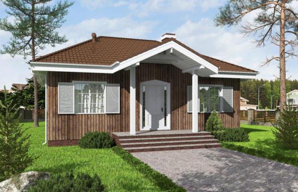 проект каркасного дома SDn 480 6