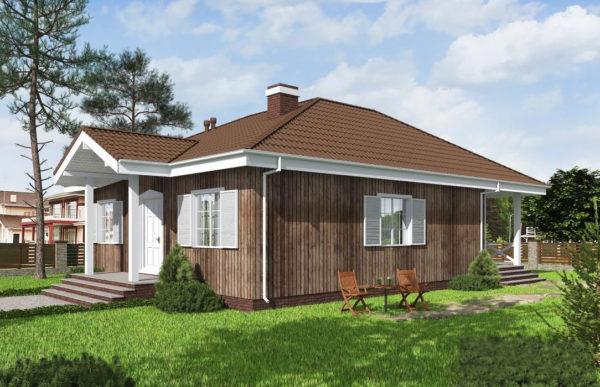 проект каркасного дома SDn 480 7