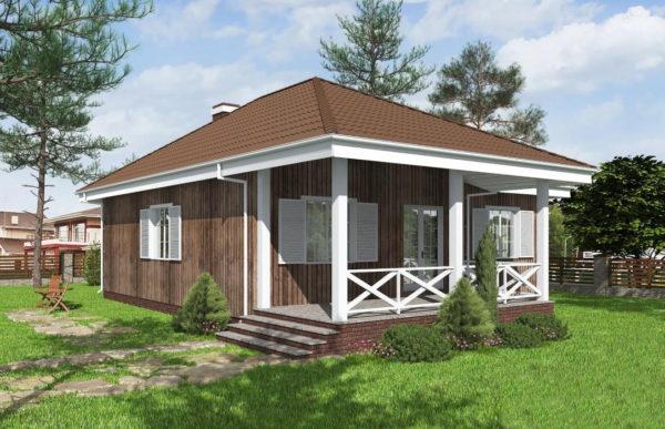 проект каркасного дома SDn 480 8