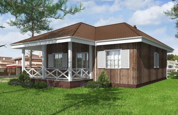 проект каркасного дома SDn 480 9