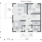 проект каркасного дома SDn-521 1