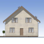 проект каркасного дома SDn-521 2