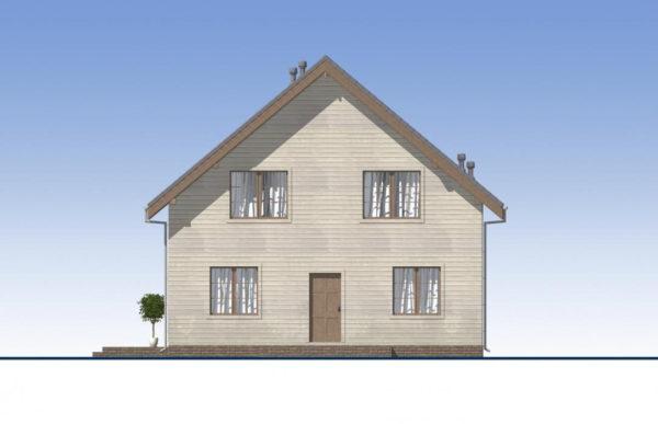проект каркасного дома SDn 521 2