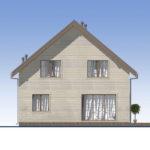проект каркасного дома SDn-521 4
