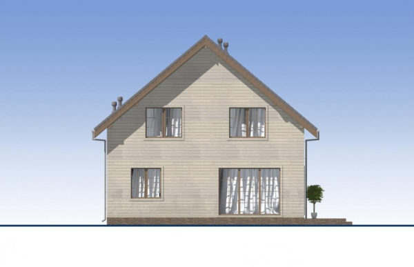 проект каркасного дома SDn 521 4