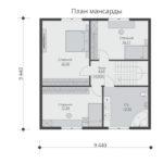 проект каркасного дома SDn-521 6