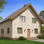 проект каркасного дома SDn-521 7