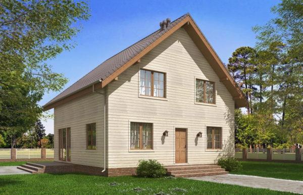 проект каркасного дома SDn 521 7