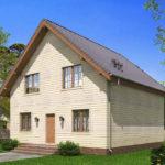 проект каркасного дома SDn-521 8