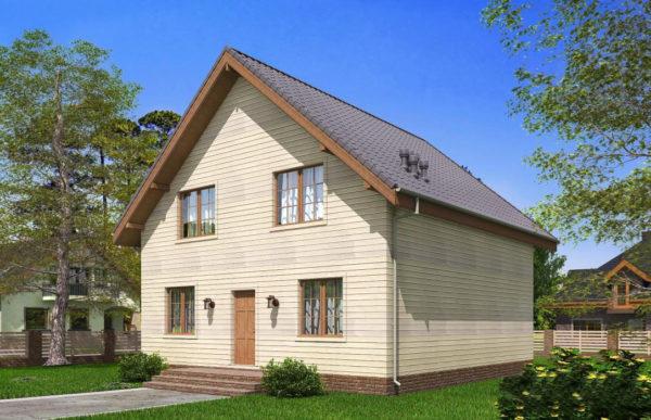 проект каркасного дома SDn 521 8