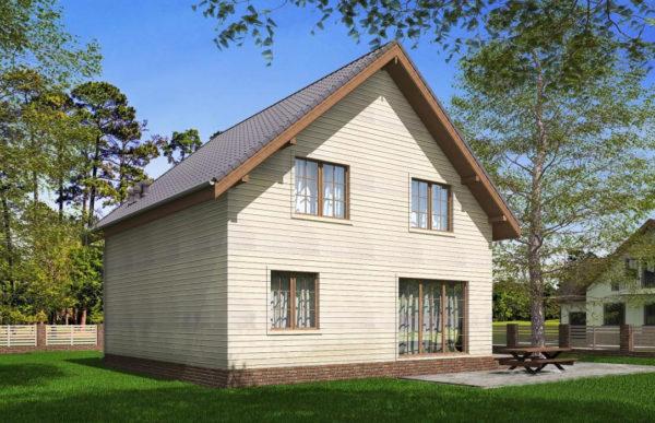 проект каркасного дома SDn 521 9