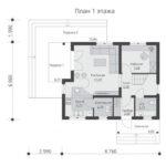 проект каркасного дома SDn-532 1