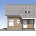 проект каркасного дома SDn-532 2