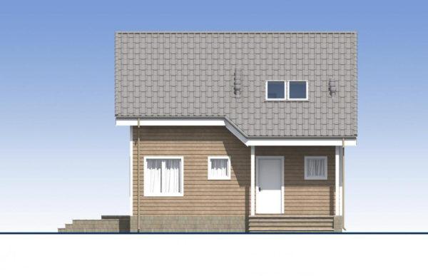 проект каркасного дома SDn 532 2