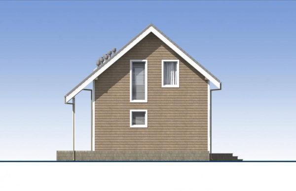 проект каркасного дома SDn 532 3