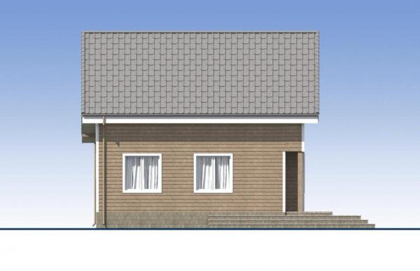 проект каркасного дома SDn 532 4