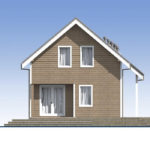 проект каркасного дома SDn-532 5