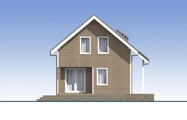 проект каркасного дома SDn 532 5