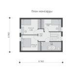 проект каркасного дома SDn-532 6